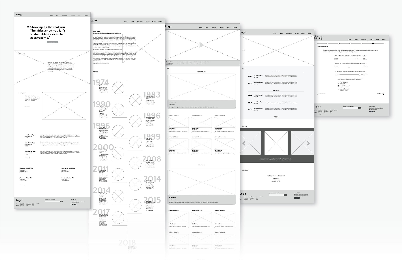 DrKris-Portfolio_Wirframe_Build
